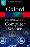 A Dictionary of Computer Science PDF