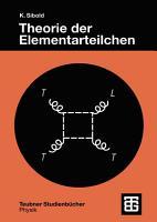 Theorie der Elementarteilchen PDF