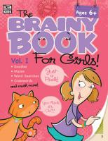 Brainy Book for Girls  Volume 1 Activity Book PDF