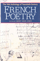 The Yale Anthology Of Twentieth Century French Poetry Book PDF