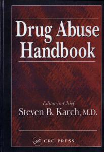 Drug Abuse Handbook Book
