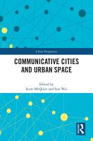 Communicative Cities and Urban Space PDF