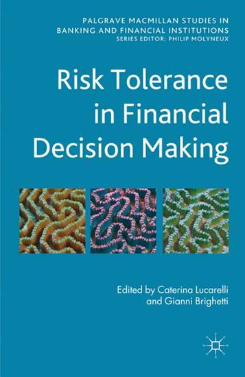 Risk Tolerance in Financial Decision Making PDF