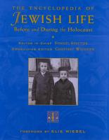 The Encyclopedia of Jewish Life Before and During the Holocaust  A J PDF