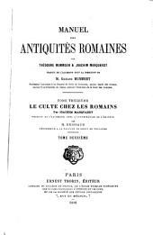 Manuel des antiquités romaines: Volume13