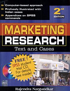 Marketing Research Text   Cases 2E Book