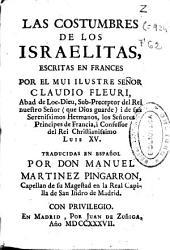Las costumbres de los israelitas: escritas en francés