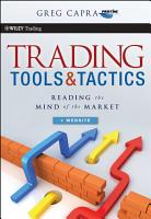 Trading Tools and Tactics PDF