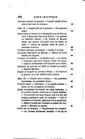 Léopold Robert: sa vie, ses oeuvres et sa correspondance