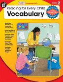 Vocabulary, Grade 2