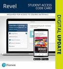 Essentials of Sociology Revel Access Code