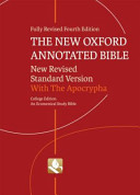 The New Oxford Annotated Bible Book