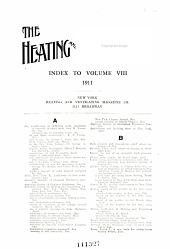 The Heating and Ventilating Magazine: Volume 8