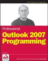 Professional Outlook 2007 Programming PDF