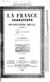 Le gardien: comédie-vaudeville en deux actes, tirée du roman d'Indiana