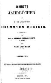 Jahrbücher der in- und ausländischen gesammten Medizin: Band 163