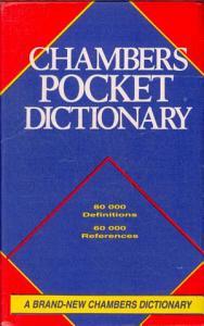 Chambers Pocket Dictionary PDF