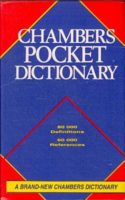 Chambers Pocket Dictionary PDF
