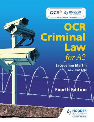 OCR Criminal Law for A2 Fourth Edition PDF