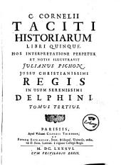 C. Cornelij Taciti opera: Volume 3