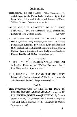 Notes on the geometry of the plane triangle PDF