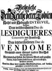 Gespräche in dem Reiche derer Todten ... zwischen dem weltberühmten Duc de Lesdiguieres ... und dem letztverstorbenen Duc de Vendome ...