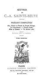 Poésies complètes: Volume1