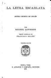 La letra escarlata: novela escrita en inglés