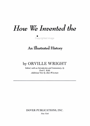 How We Invented the Airplane