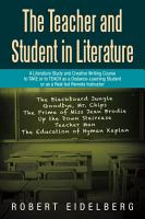 The Teacher and Student in Literature PDF