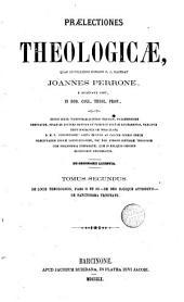 Praelectiones theologicae quas in collegio romano S.J habebat ..., 2