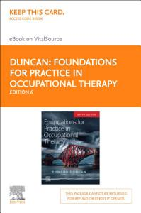 Foundations for Practice in Occupational Therapy E BOOK PDF