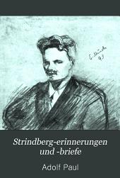 Strindberg-Erinnerungen und -Briefe