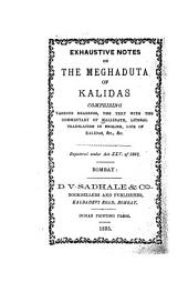 Exhaustive Notes on the Meghaduta