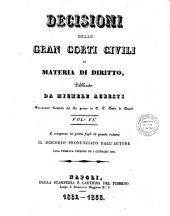 Decisioni delle Gran Corti civili in materia di diritto: 6