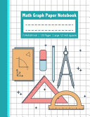 Math Graph Paper Notebook   7 44x9 69 Inch 120 Pages Large 1 2 Inch Squares PDF