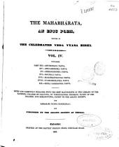 The Mahábhárata: an epic poem, Volume 4