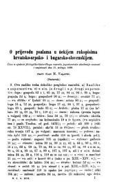 Rad Jugoslavenske akademije znanosti i umjetnosti: Volumes 99-102