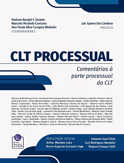 CLT PROCESSUAL PDF