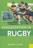 Periodization in Rugby PDF