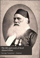 The Life and Work of Syed Ahmed Khan PDF