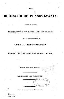 Hazard s Register of Pennsylvania