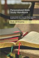 Personalized Bible Study Handbook