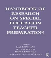 Handbook of Research on Special Education Teacher Preparation PDF