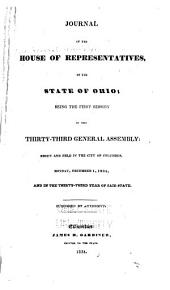 Journal of the House of Representatives of the State of Ohio: Volume 33