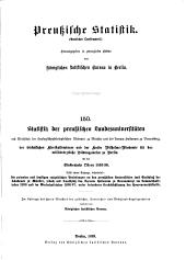 Preussische statistik: Ausgabe 150
