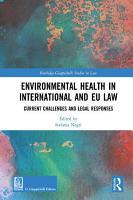 Environmental Health in International and EU Law PDF
