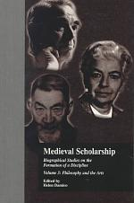 Medieval Scholarship: Philosophy and the arts