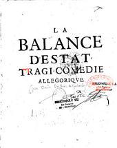 La Balance d'Estat : tragi-comédie allégorique