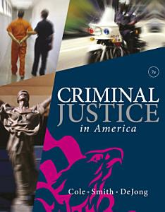 Criminal Justice in America Book